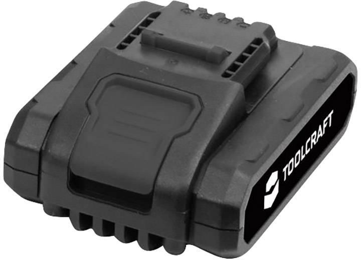 Náhradný akumulátor pre aku vŕtací skrutkovač TOOLCRAFT DD 18, TOOLCRAFT 1420596, 18 V, 2 Ah