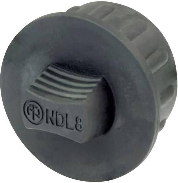 Záslepka Neutrik NDL8, čierna, 1 ks