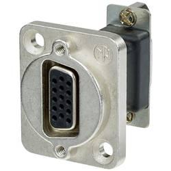 D-SUB adaptér Neutrik NADB15FF, D-SUB zásuvka 15pólová - D-SUB zásuvka 15pólová, 1 ks