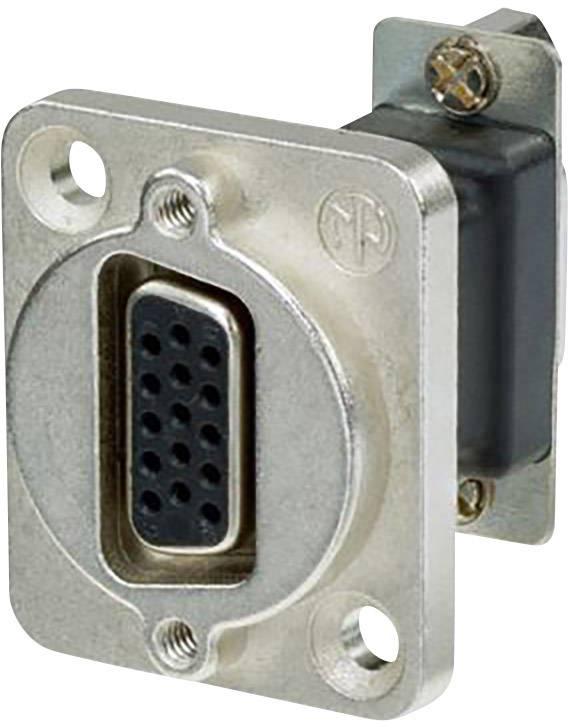 D-SUB adaptér Neutrik NADB15FF, Počet pinov 15, 1 ks
