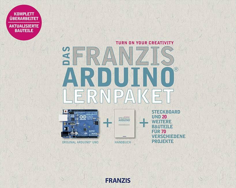 Náučná stavebnica Franzis Verlag Franzis Arduino™ Lernpaket 4019631670328, ATMega328, USB