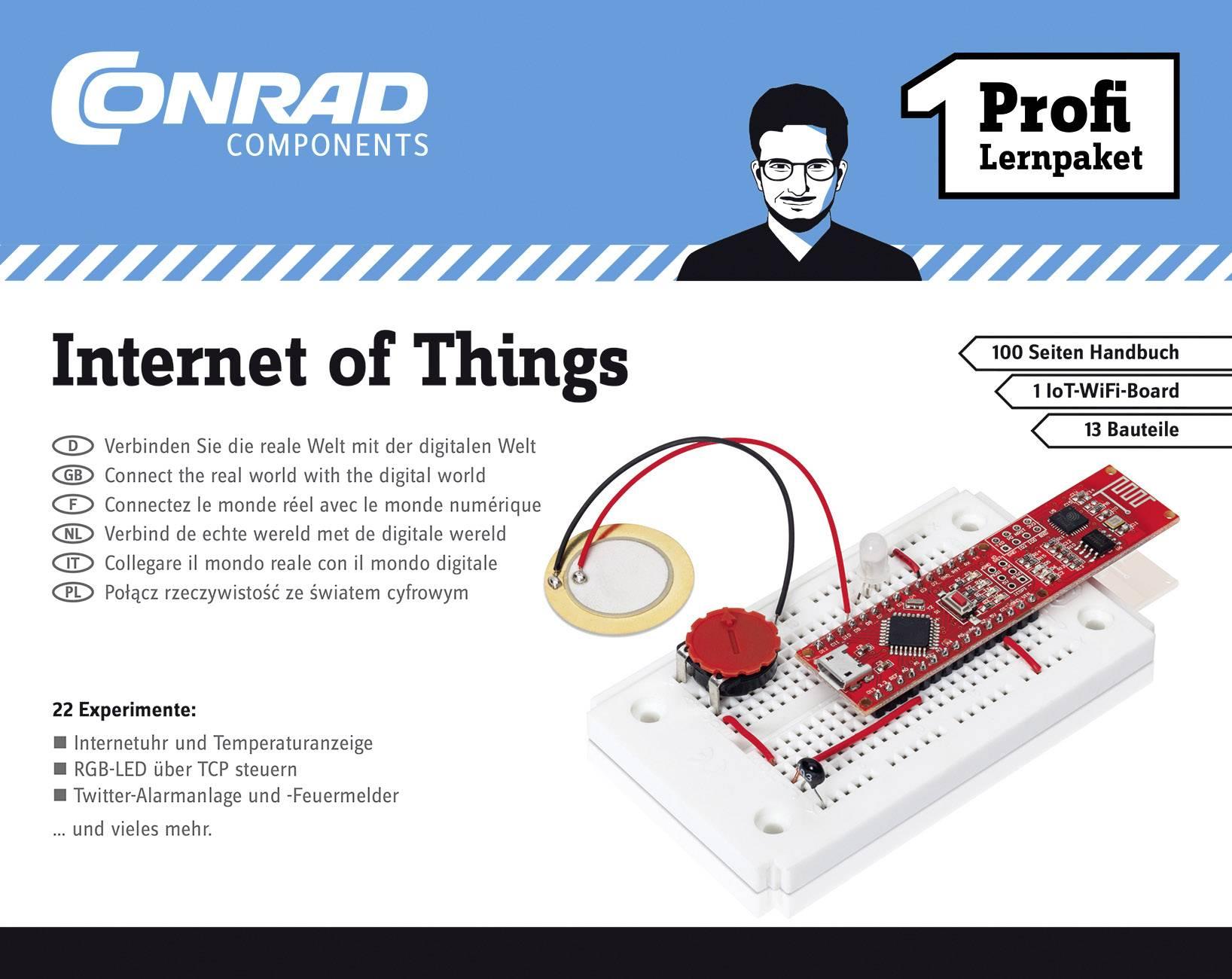 Výukovásada Conrad Components Profi Lernpaket Internet of Things 10215 od 14 rokov