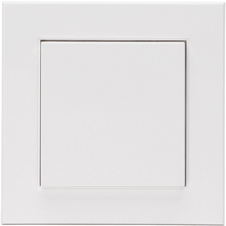 Bezdrôtový nástenný spínač Kopp Free Control HK 07 1/2 823102020, 2-kanálový, čisto biela
