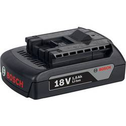 Náhradní akumulátor pro elektrické nářadí, Bosch Professional GBA 18 V 1600Z00035, 18 V, 1.5 Ah, Li-Ion akumulátor