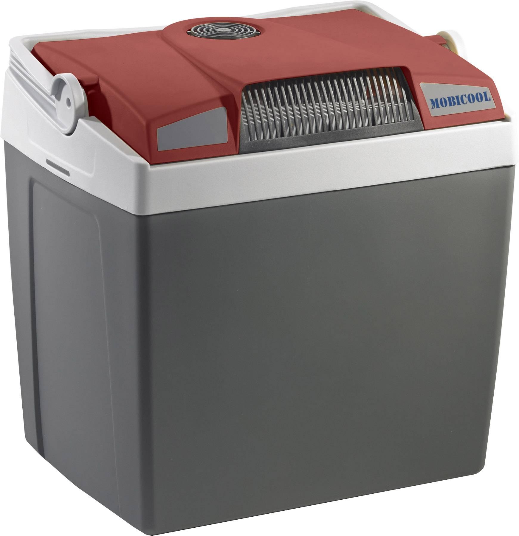 Termoelektrický chladiaci box (chladnička) MobiCool 12 V červeno šedá 25 l