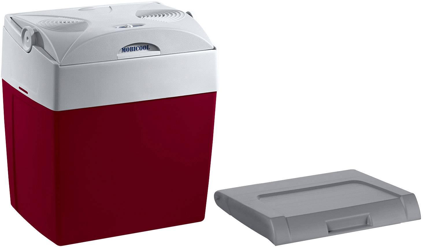 Přenosná lednice (autochladnička) MobiCool V30 12/230 12 V, 230 V červená 29 l A++ (A+++ - D)