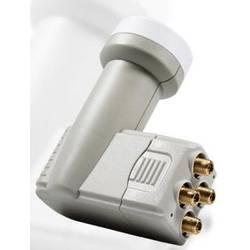 Satelitní konvertor Quad-LNB Smart TEQS Velikost feedu: 40 mm pozlacené konektory, ochrana před vnějšími vlivy