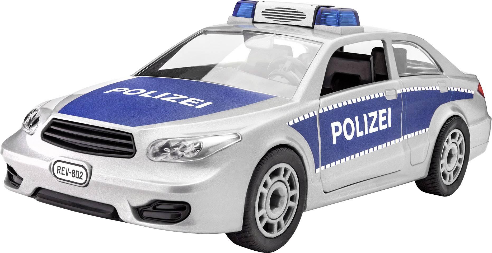 Model auta, stavebnica Revell Junior Kit Polizei 00802