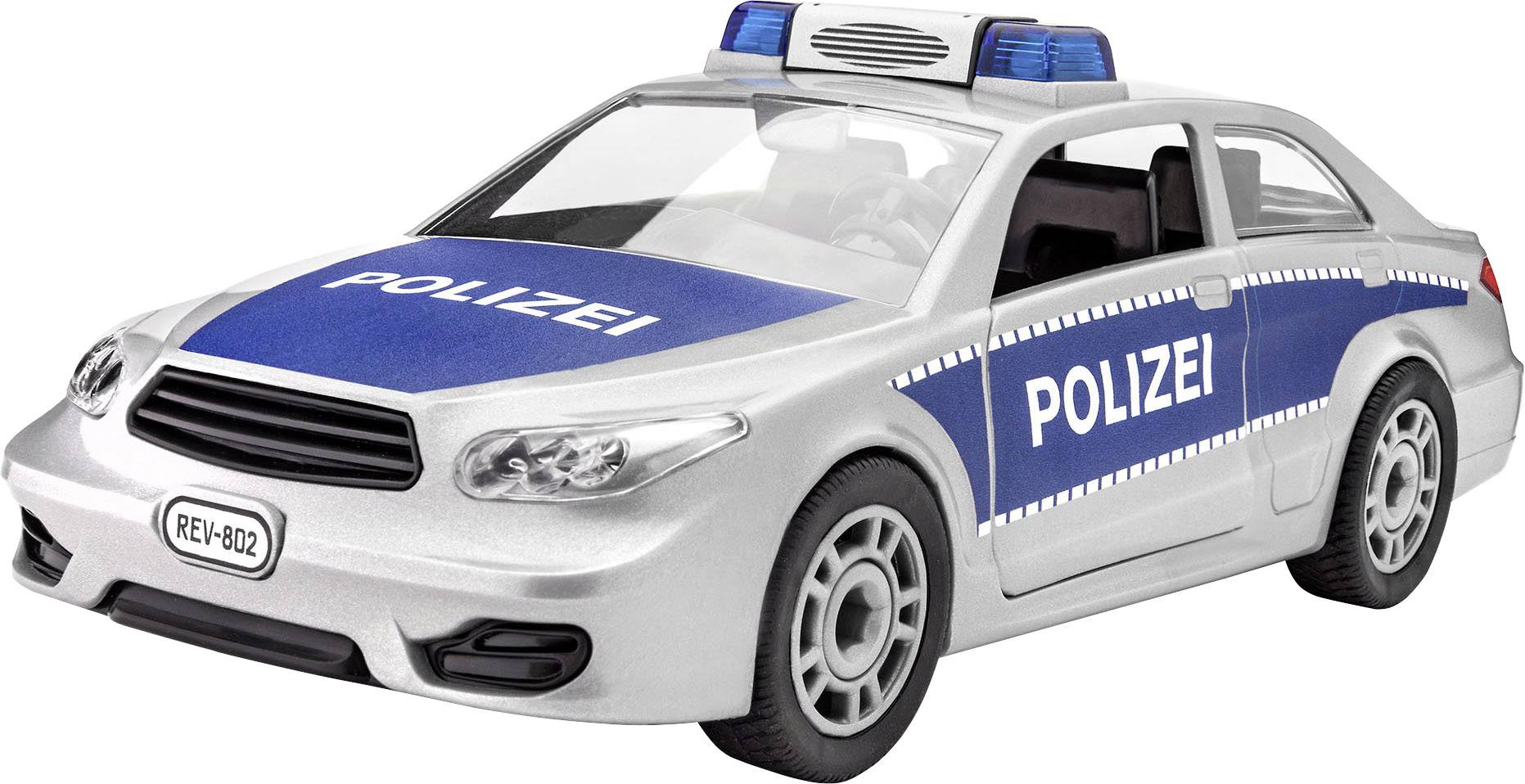 Model auta, stavebnice Revell Junior Kit Polizei 00802