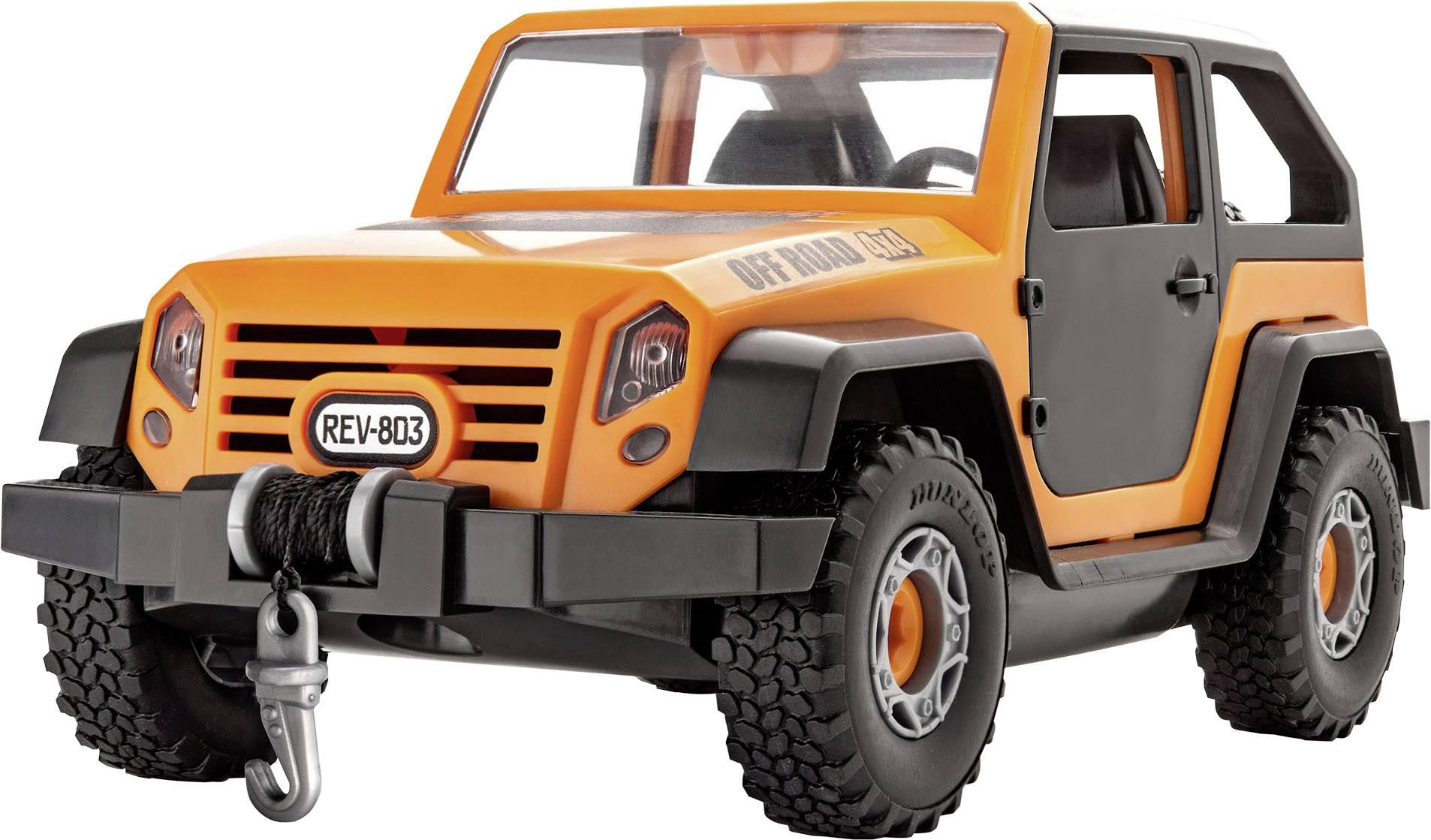 Model auta, stavebnica Revell Junior Kit Off-Road Auto Bausatz 00803