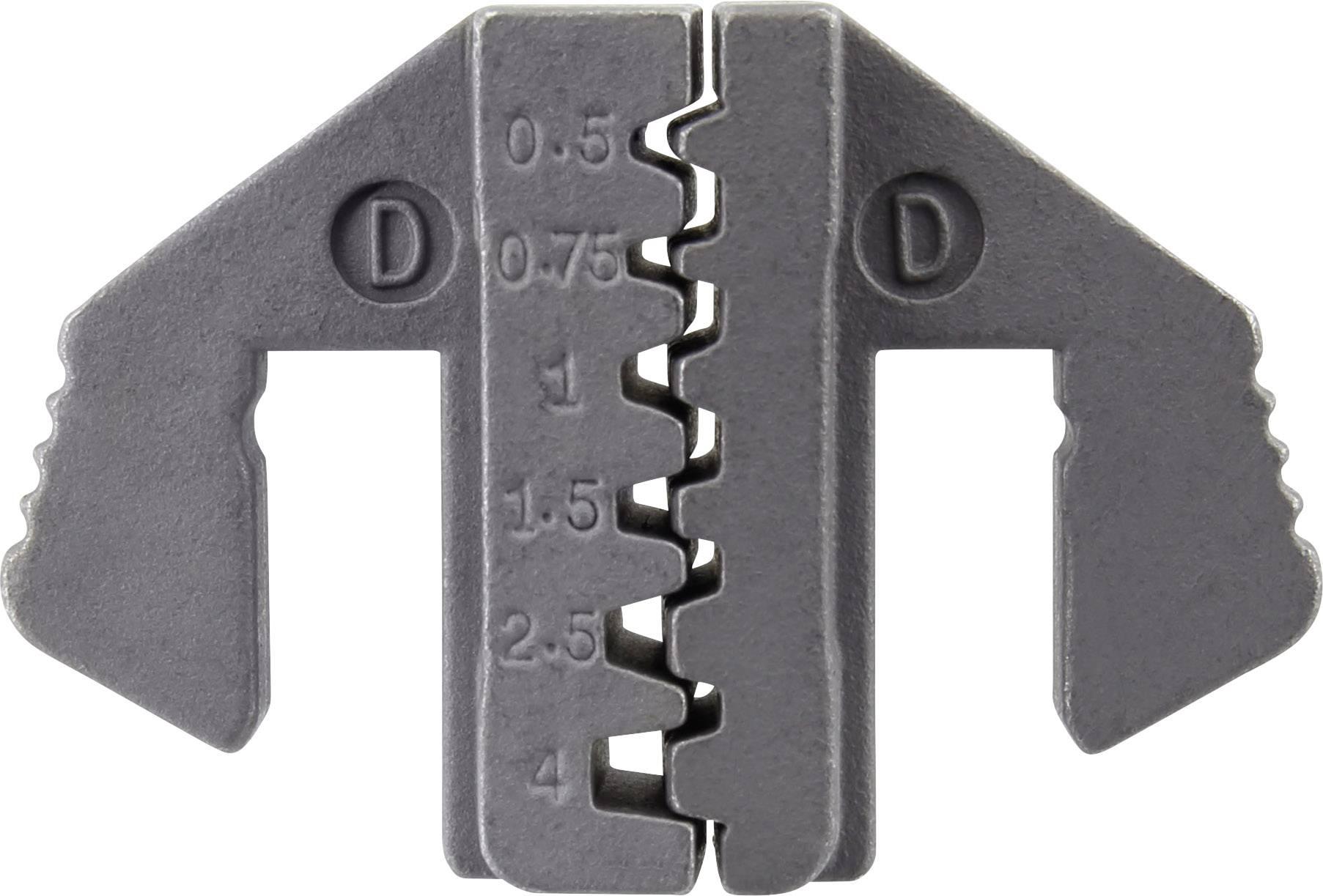 Krimpovací nástavec TOOLCRAFT 1423395, 0.5 do 4 mm², ATT.LOV.FITS4_BRAND_PLIERS TOOLCRAFT, 1423556