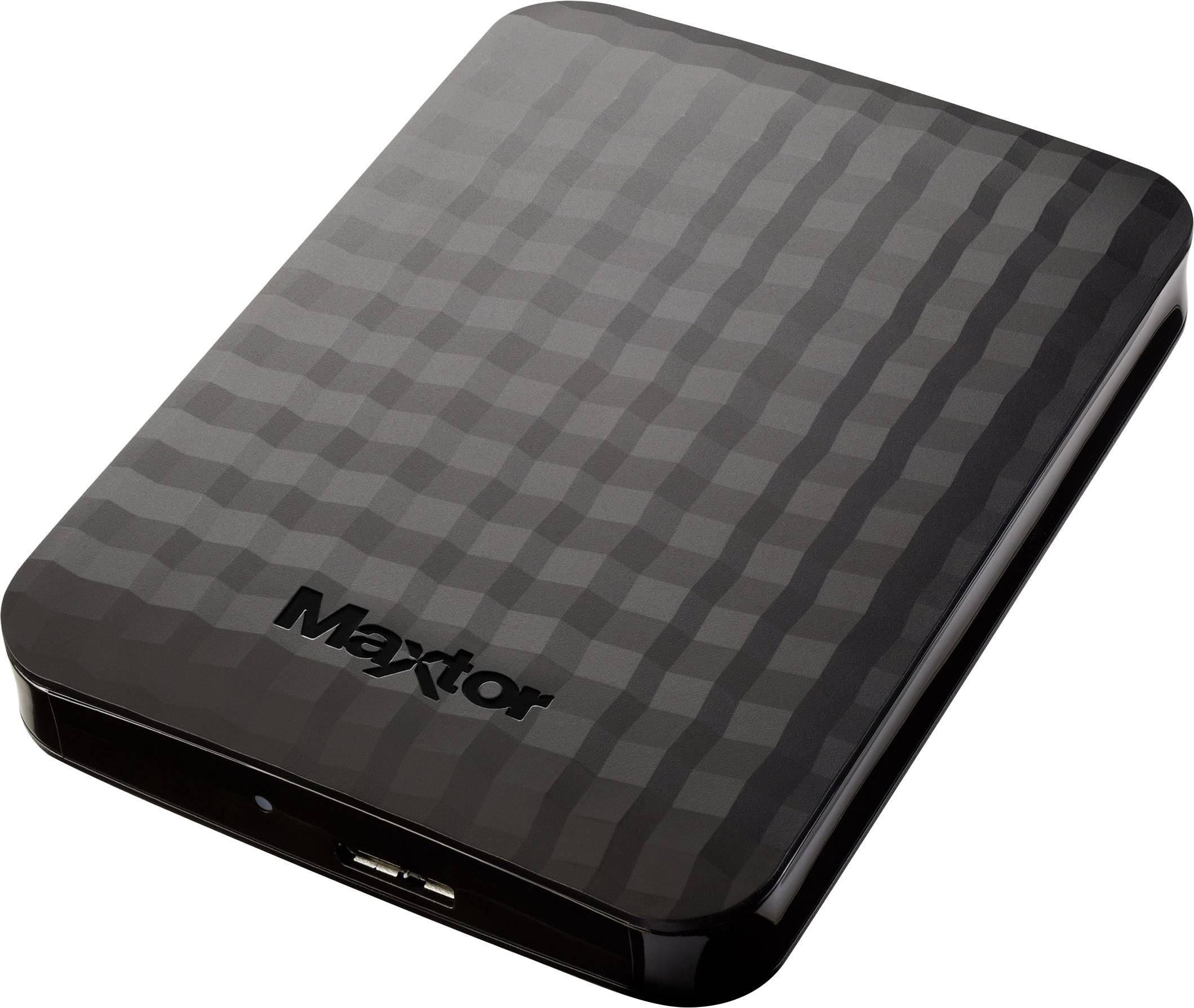 """Externý pevný disk 6,35 cm (2,5"""") Maxtor M3 Portable, 2 TB, USB 3.0, čierna"""