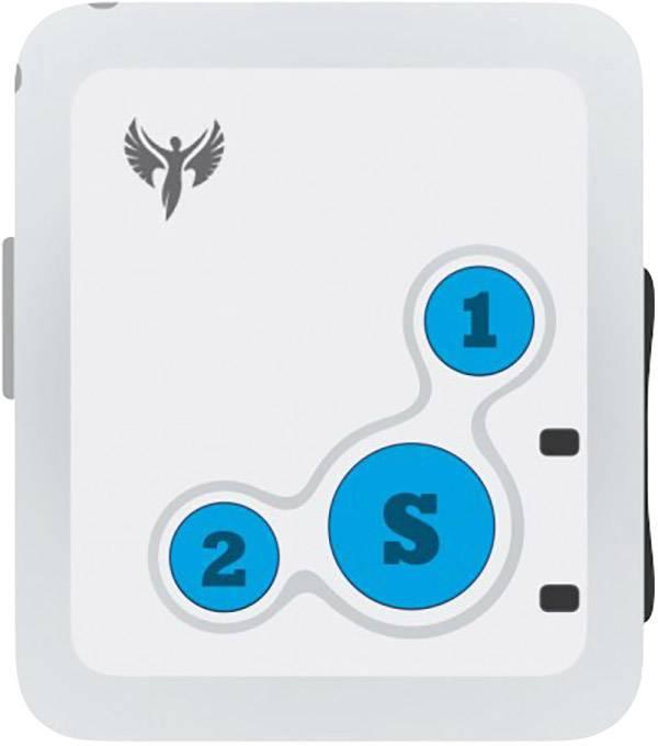GPS tracker Amparos S6 bielomodrá