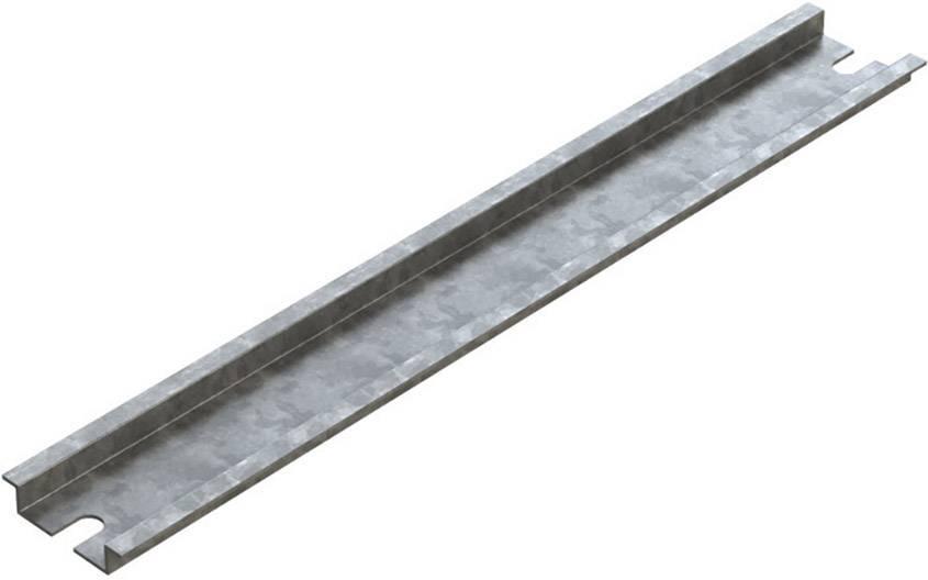 Koľajnica Deltron Enclosures 4DR3522, 204 mm, oceľový plech, 1 ks