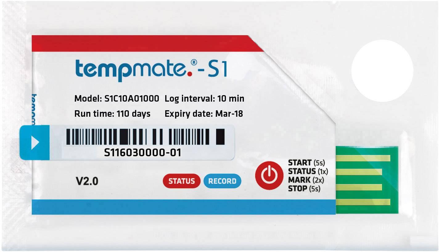 Teplotný datalogger (merač) tempmate Tempmate S1 -30 do 70 °C