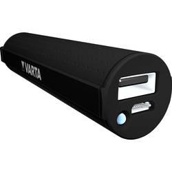 Powerbanka Varta Powerpack 2600, Li-Ion akumulátor 2600 mAh, černá
