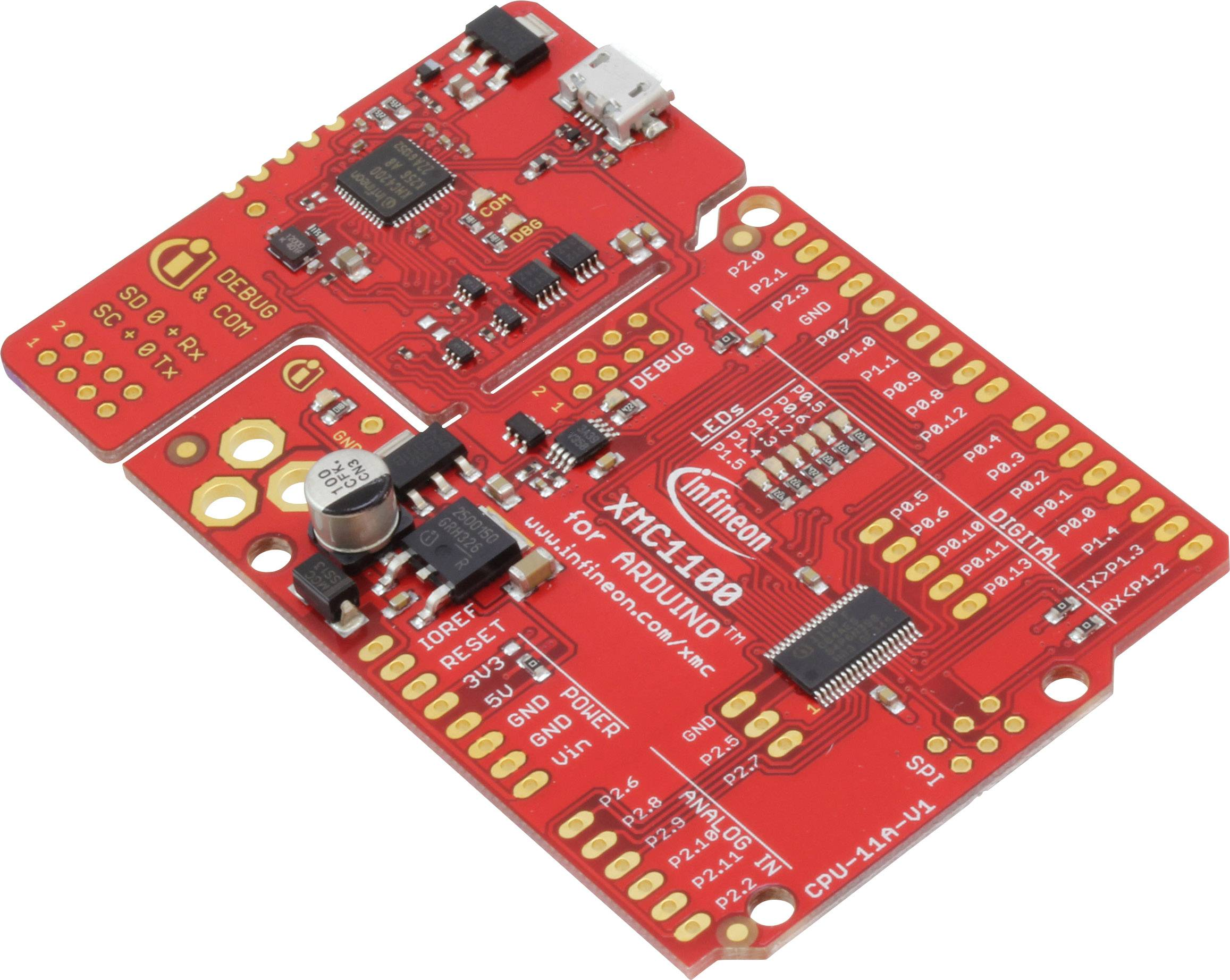 Vývojová deska Infineon Technologies KIT_XMC11_BOOT_001