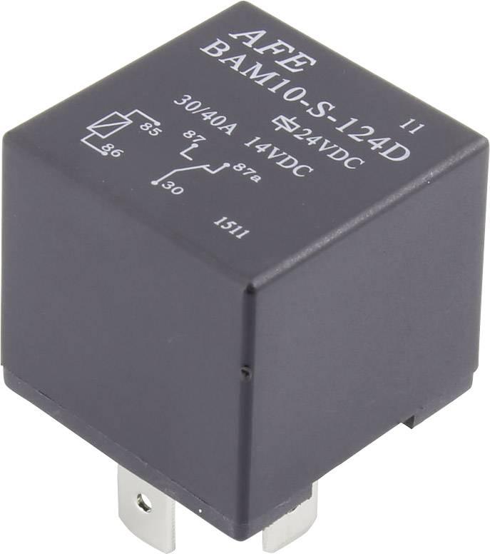 Relé pro automotiv AFE, 12 V/DC, 30 A, 1 přepínací kontakt