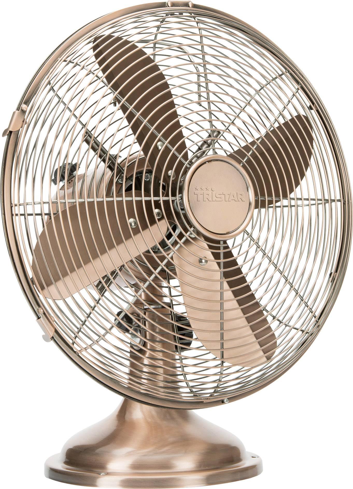 Stolní ventilátor Tristar VE-5970, 35 W, (Ø x v) 30 cm x 48 cm, měděná