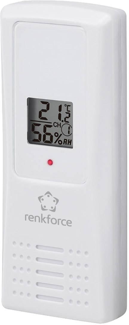 Teplotní/vlhkostní senzor Renkforce FT007TH