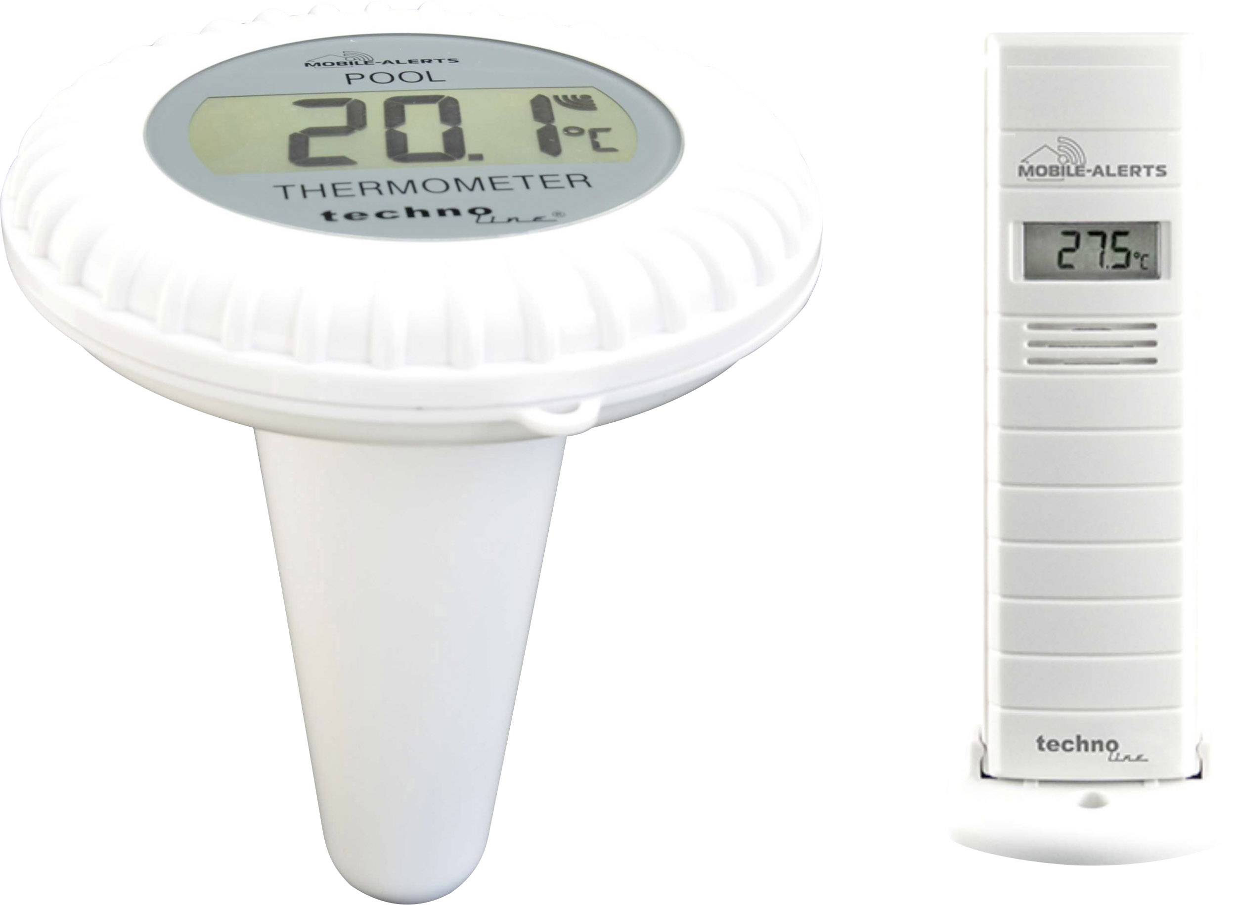 Teplotní/vlhkostní senzor do bazénu Techno Line MA 10700