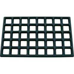 ESD montážní rohož mřížkovaná Bernstein 9-334, (d x š x v) 610 x 370 x 20 mm, černá
