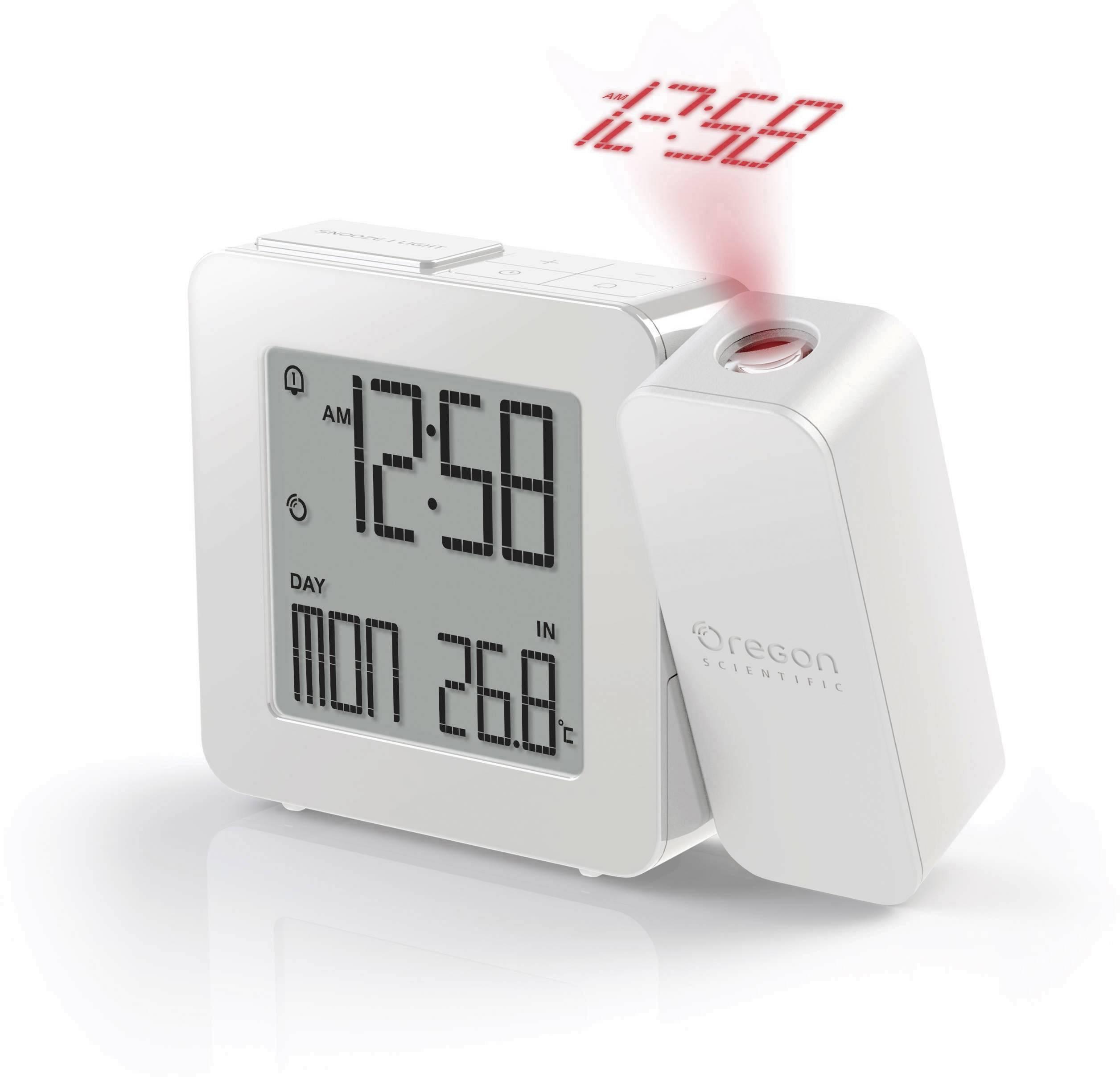 DCF projekčné hodiny Oregon Scientific PROJI RM 338P PROJI RM 338P white, biela