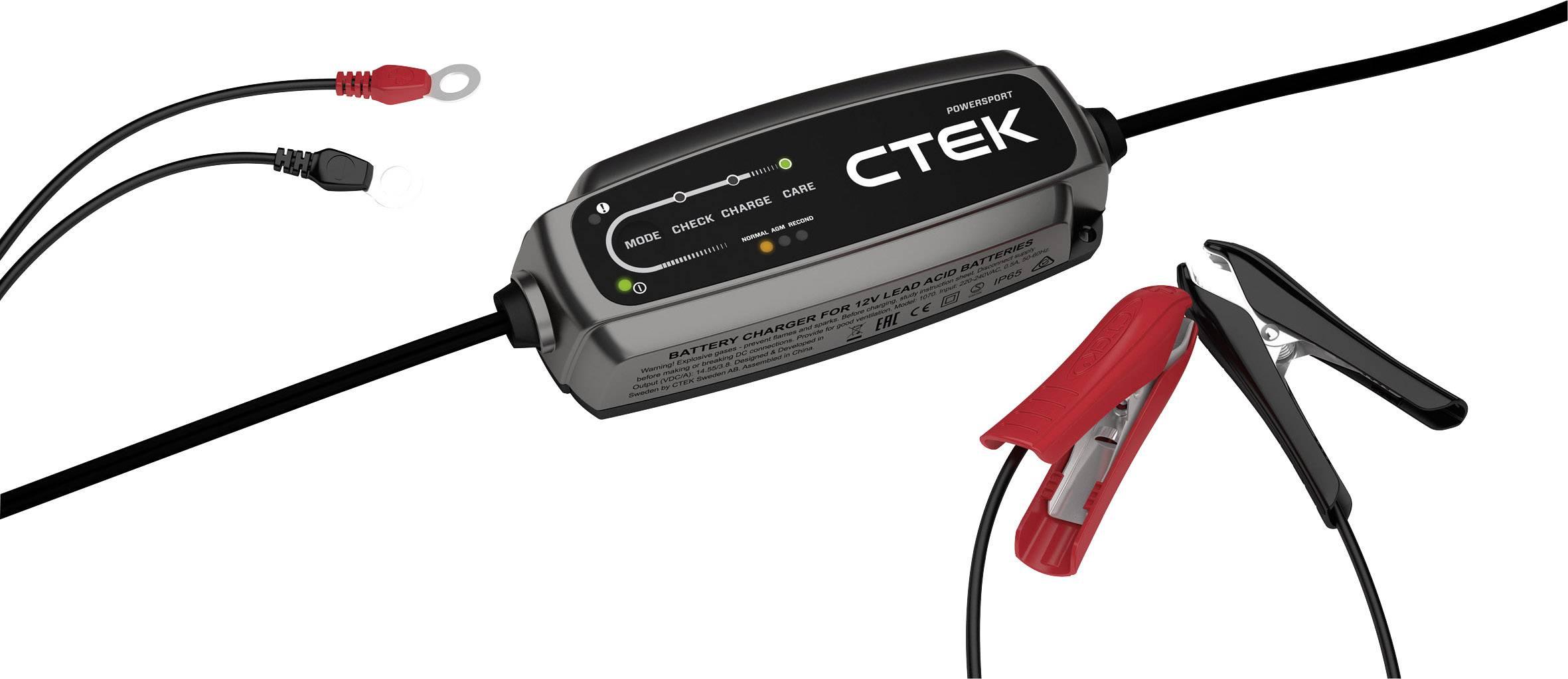 Nabíječka autobaterie CTEK 40-136, 12 V, 2.3 A