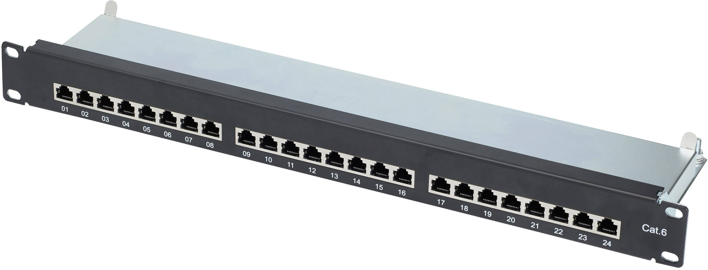 Sieťový Patchpanel Renkforce RF-4277937 CAT 6 24 portov 1 U