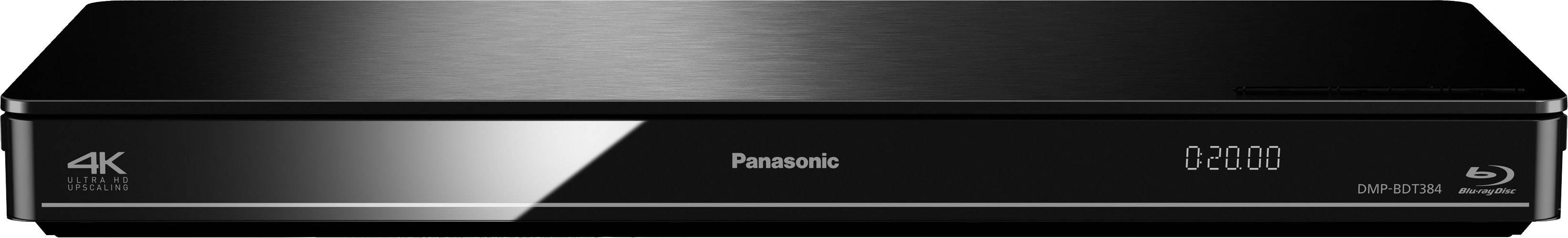 3D Blu-Ray přehrávač Panasonic DMP-BDT384, Wi-Fi, černá