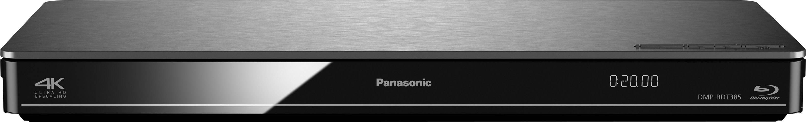 3D Blu-Ray přehrávač Panasonic DMP-BDT385, Wi-Fi, stříbrná