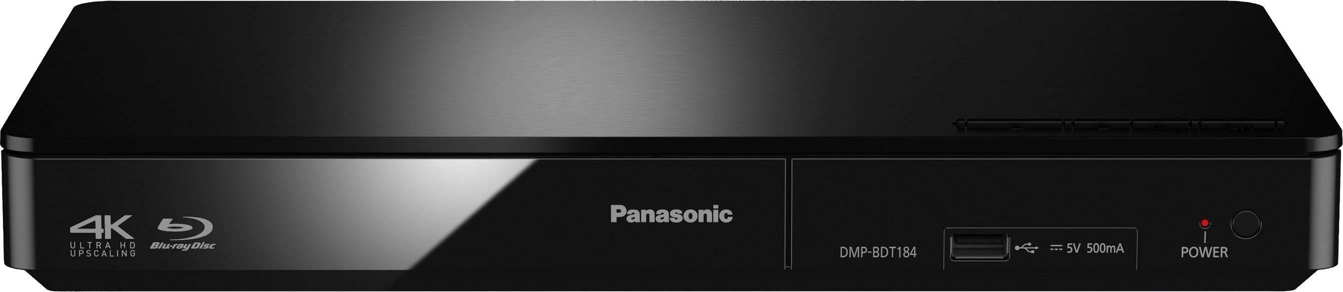 3D Blu-Ray přehrávač Panasonic DMP-BDT184, černá
