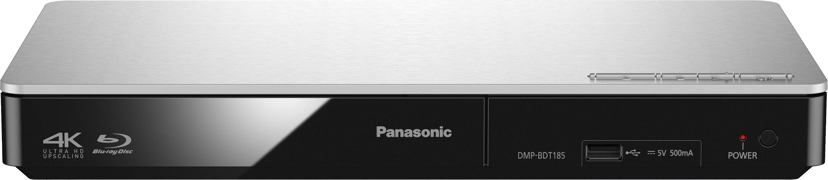 3D Blu-Ray přehrávač Panasonic DMP-BDT185, stříbrná