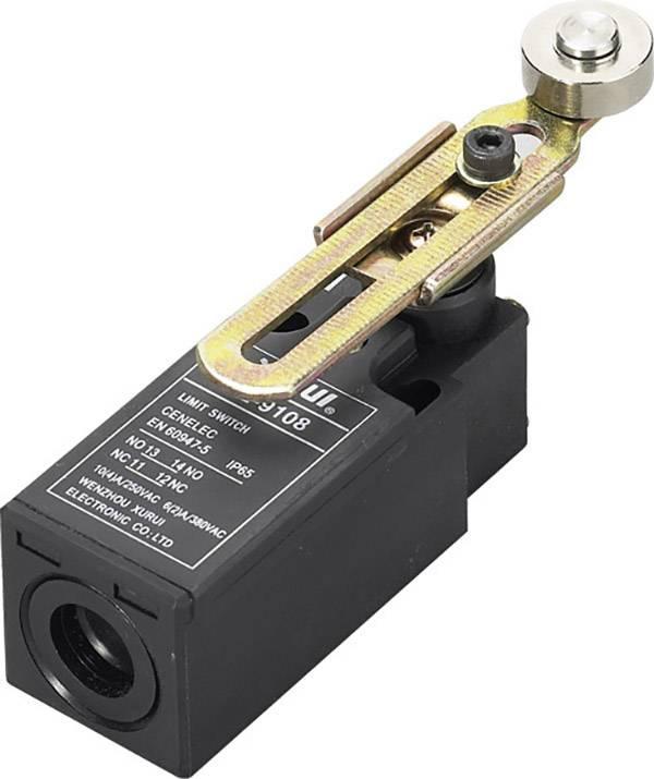 Koncový spínač TRU COMPONENTS XZ-9/108, 250 V/AC, 10 A, hydraulické zdvíhadlo , bez aretácie, IP65, 1 ks