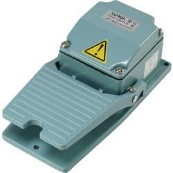 Nožní/ruční tlačítko TRU COMPONENTS XF-402, 250 V/AC, 15 A, 1 přepínací kontakt, 1 ks