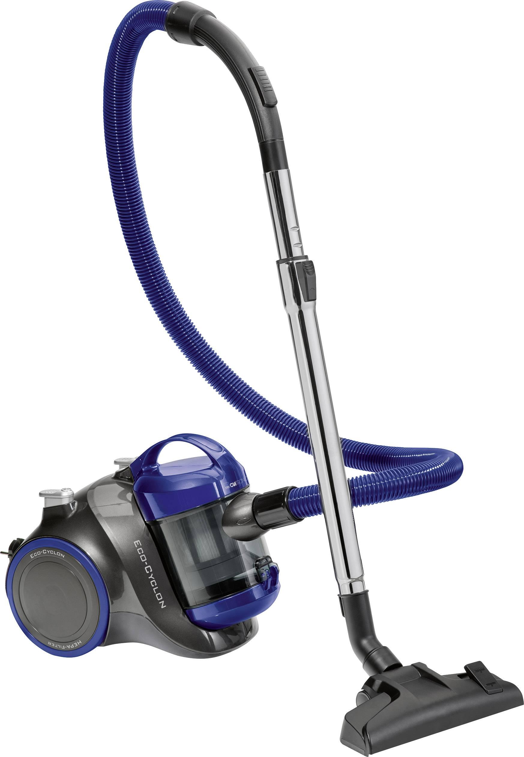Bezvreckový vysávač Clatronic BS 1304, antracitová, modrá