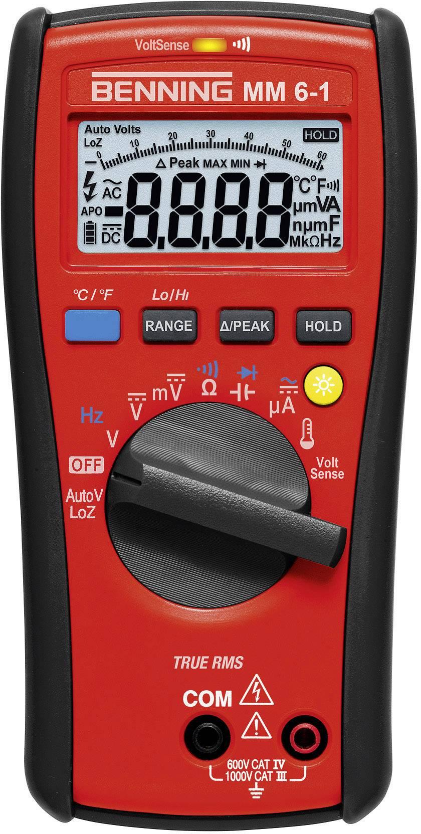 Digitální multimetr Benning MM 6-1