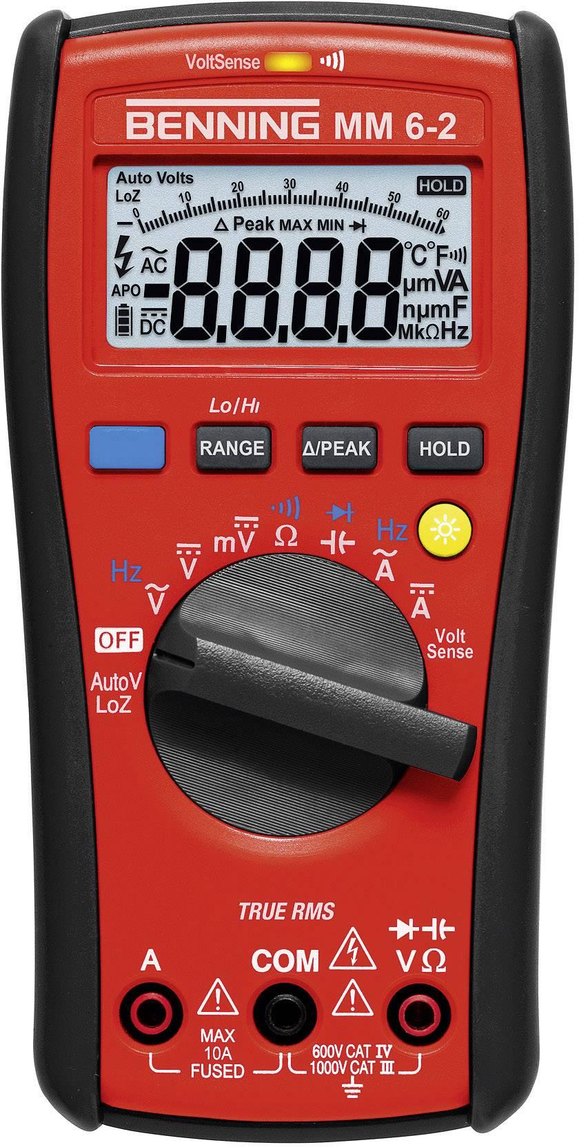 Digitální multimetr Benning MM 6-2