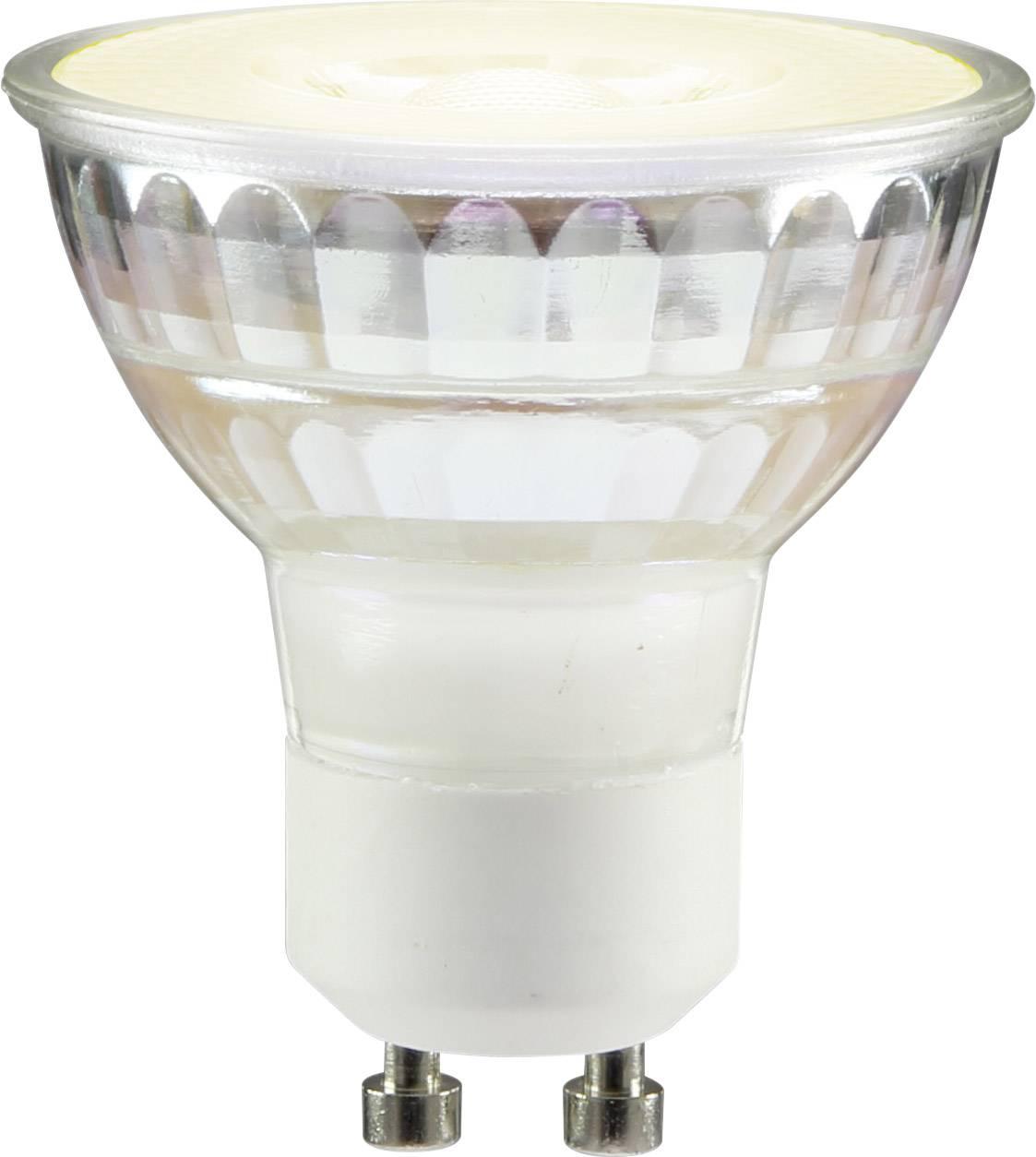 LED žiarovka Sygonix 1102020858 230 V, 3.7 W = 35 W, teplá biela, A+, stmievateľná, 1 ks