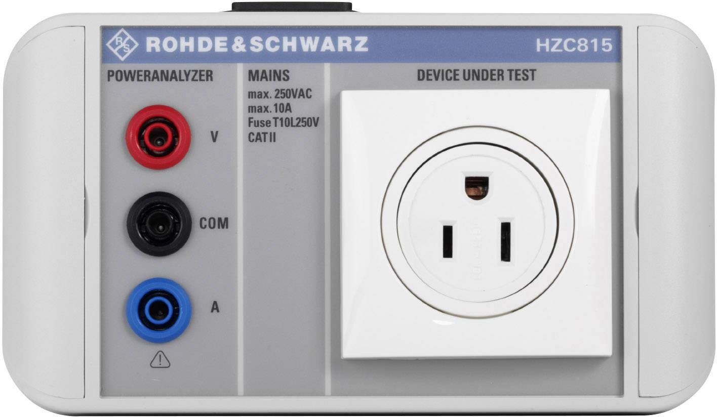 Napájací adaptér Rohde & Schwarz HZC815-US pre prístroj na meranie výkonu R & S (R) HMC8015, americká zástrčka, 3622.2252.02