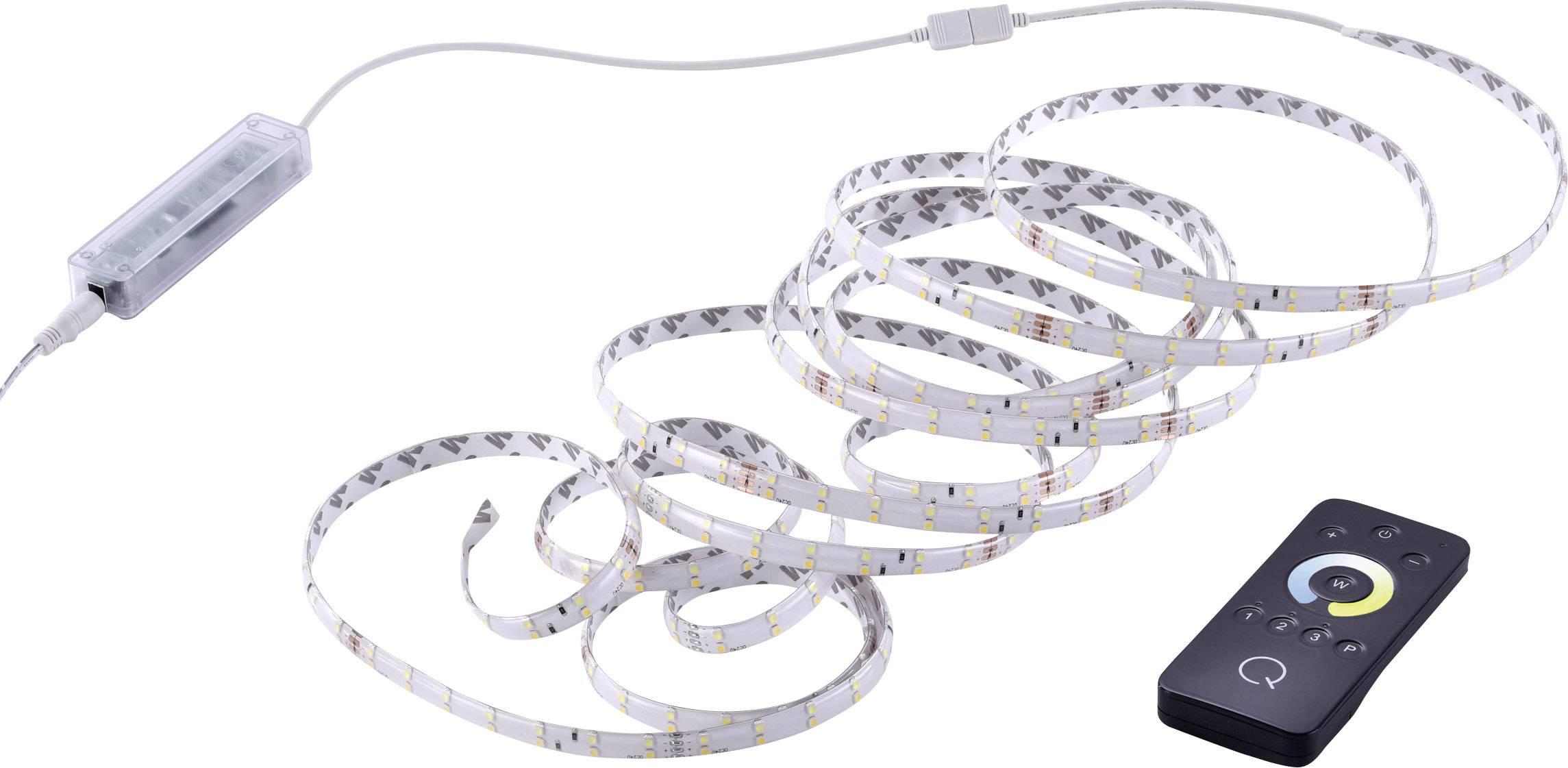LED pásik Paul Neuhaus Q®;Q®-Teania, pevne zabudované LED osvetlenie, 25 W, teplá biela, RGB
