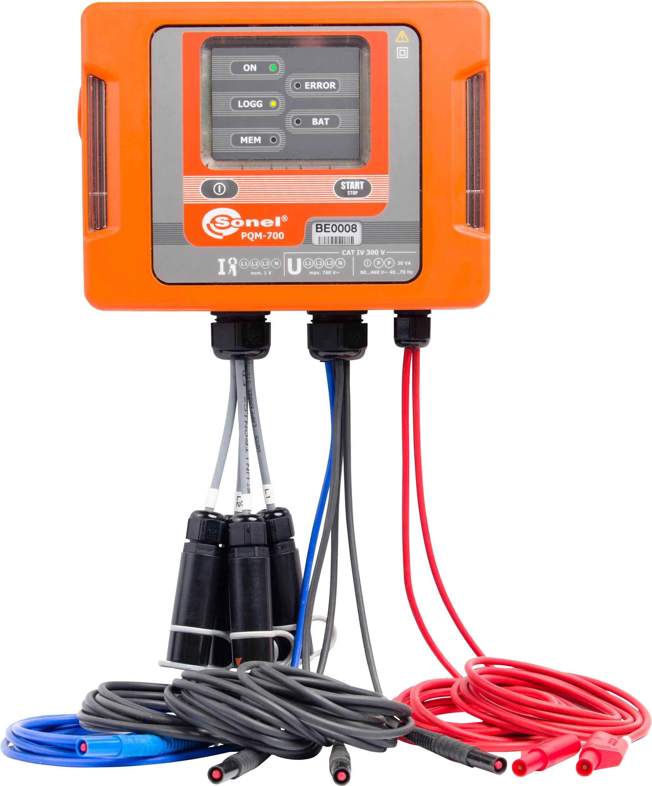Síťový analyzátor PQM-700 Sonel PQM-700