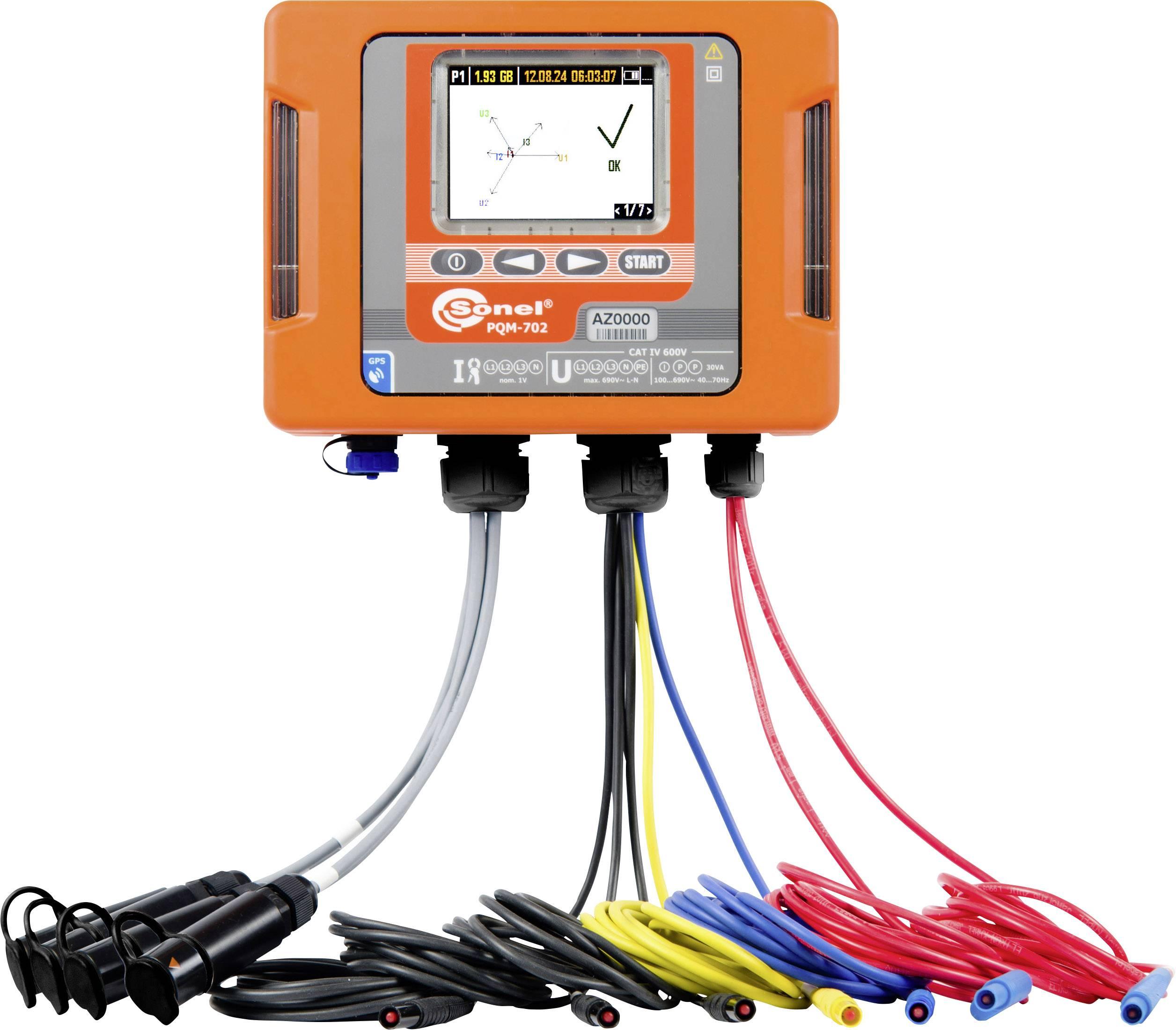Sieťový analyzátor Sonel PQM-702