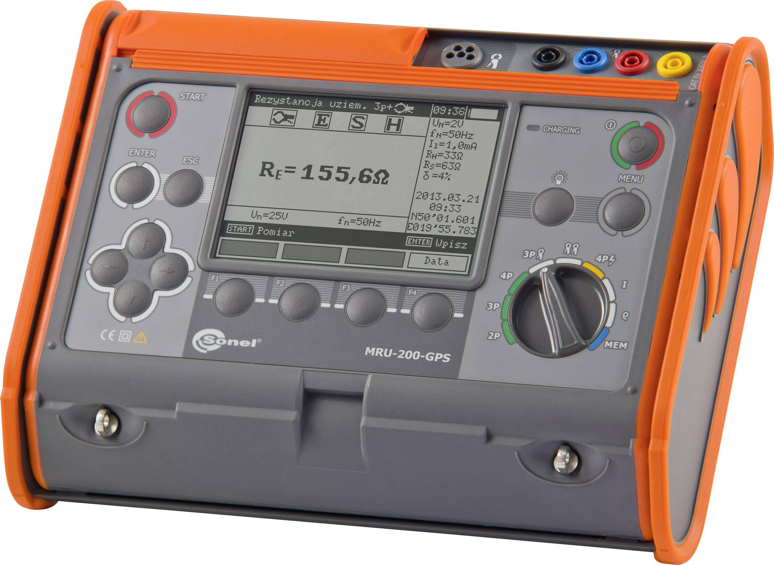 Merač zemných odporov Sonel MRU-200GPS