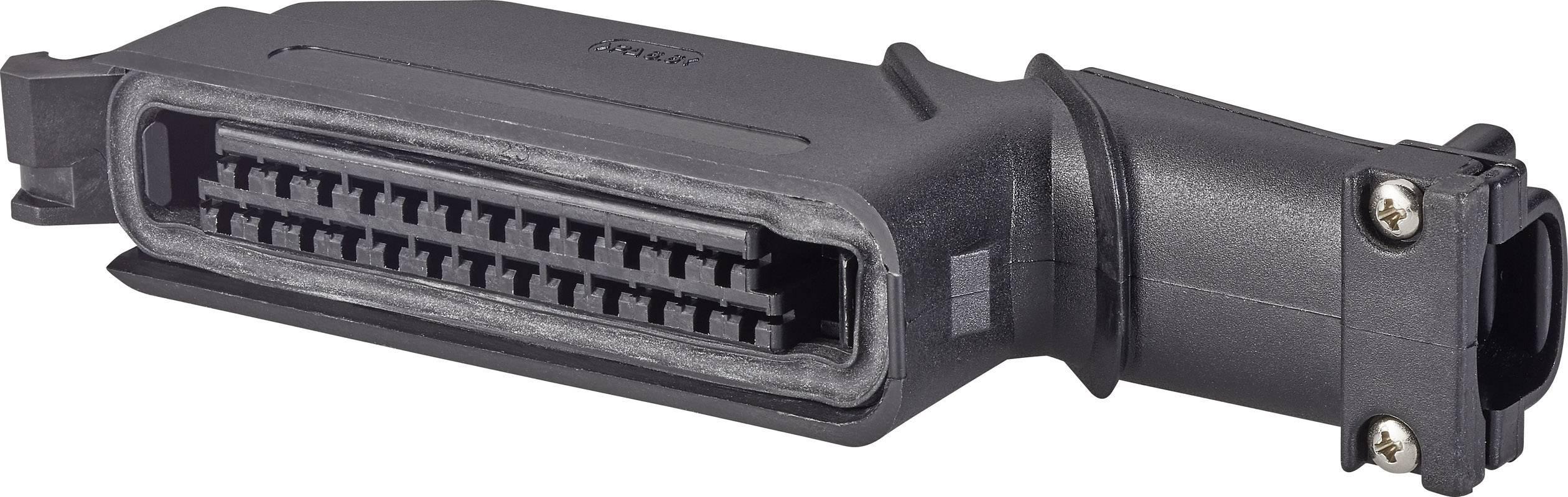 Zástrčkový konektor na kábel TE Connectivity 827249-2 827249-2, pólů 25, rozteč 5 mm, 1 ks