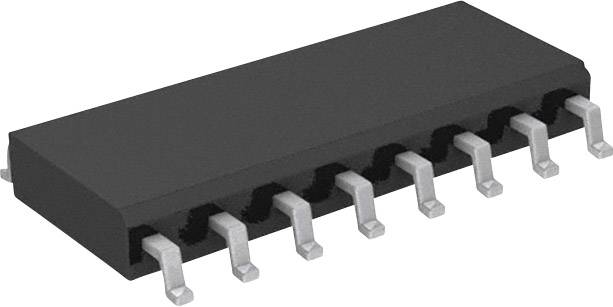 Logický IO - multivibrátor Texas Instruments CD74HC123M, monostabilní, 25 ns, SOIC-16