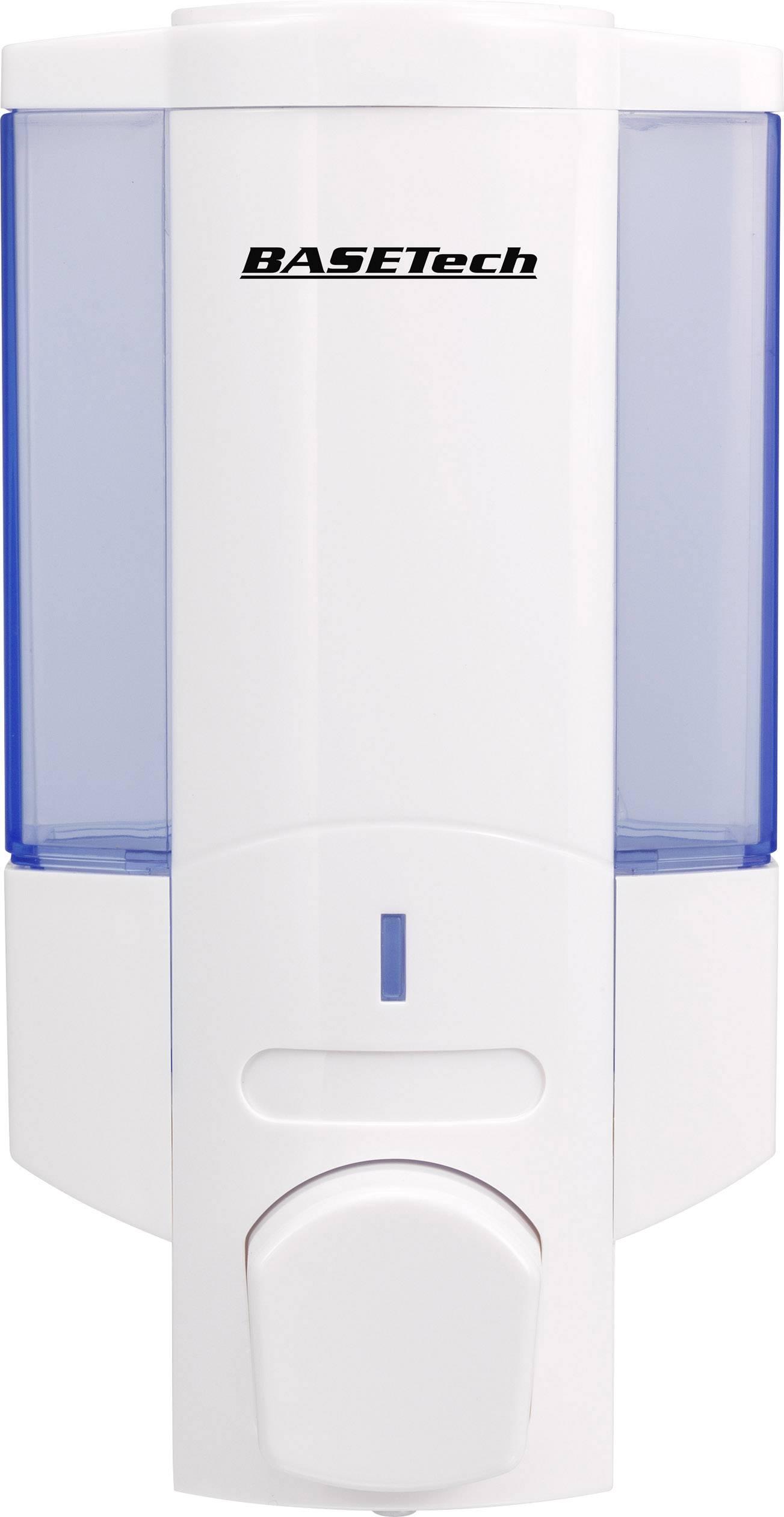 Dávkovač tekutého mydla Basetech V-6101, 350 ml, biela