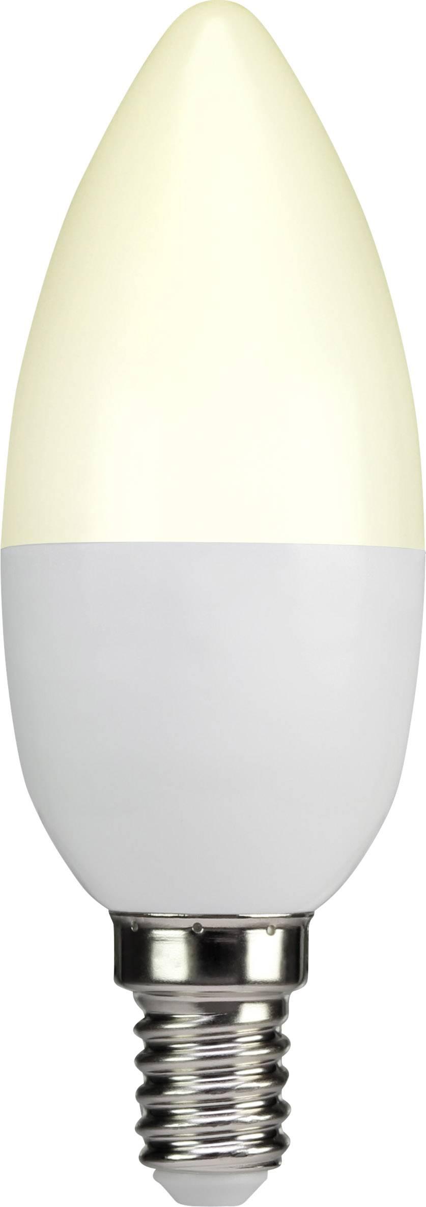 LED žiarovka Sygonix CADB12WS/RA80 230 V, 3.3 W = 25 W, teplá biela, A+, 1 ks