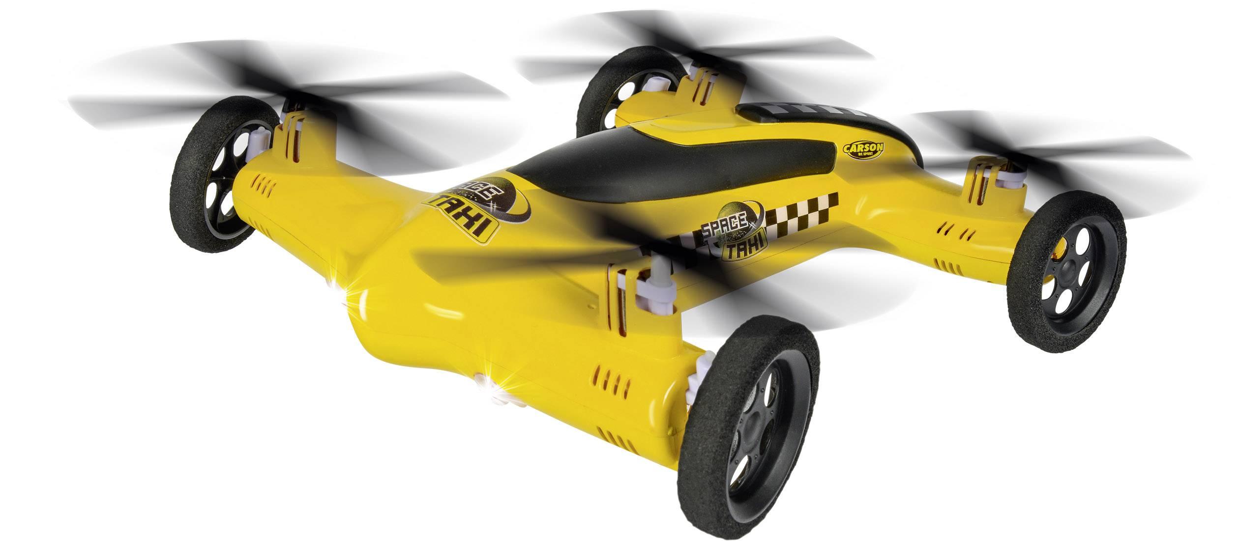 Hybridní kvadrokoptéra pro začátečníky Carson Modellsport Space Taxi, RtF