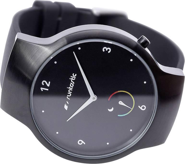 Fitness hodinky Runtastic Moment Basic Black, veľkosť: uni, čierna